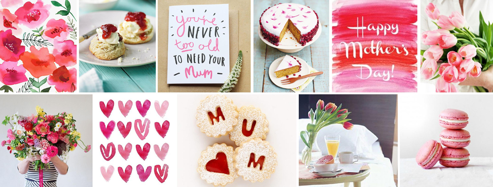 Mother's Day Inspiration Banner
