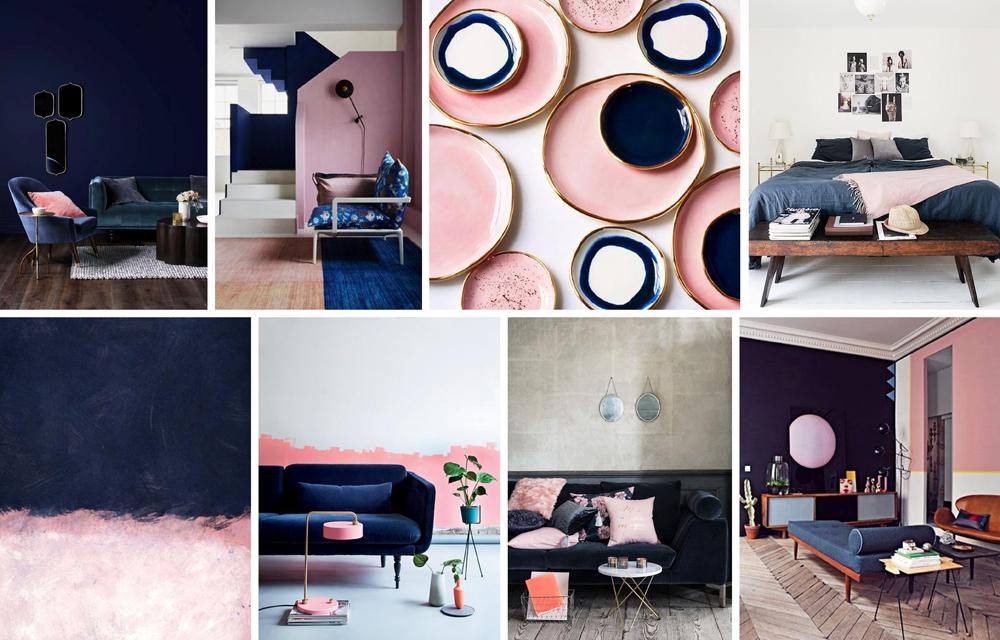 Navy & Blush Pink inspiration 2