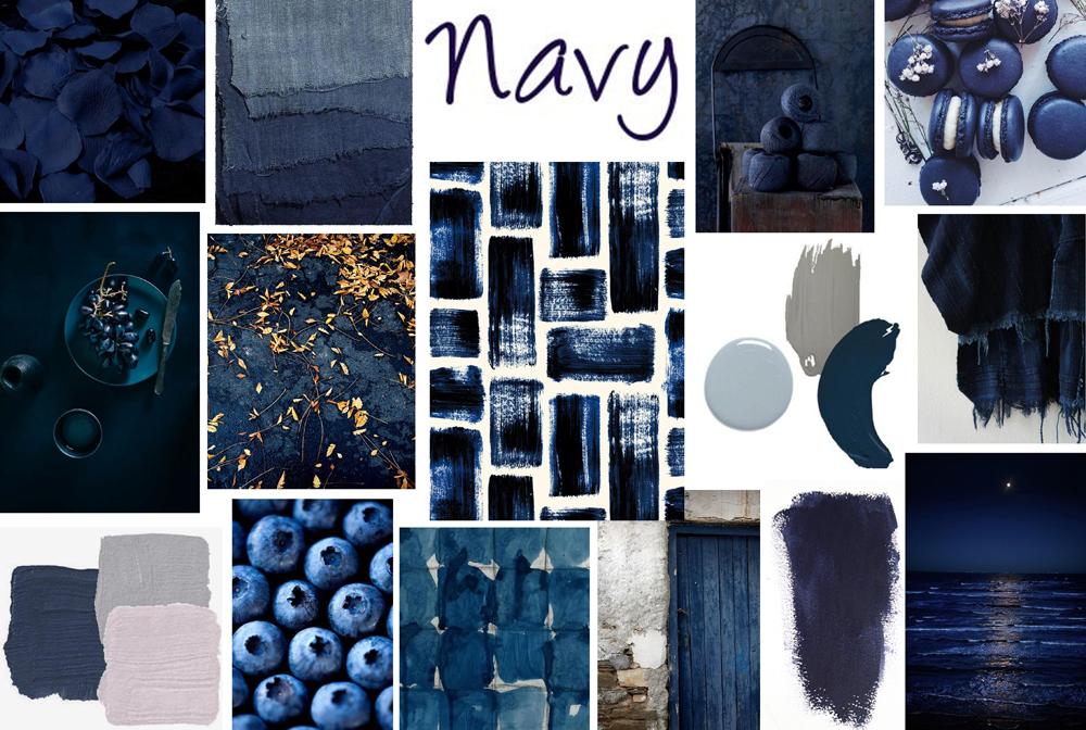 Navy colour inspiration