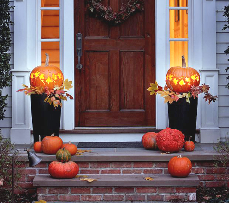 Halloween Front Porch Image