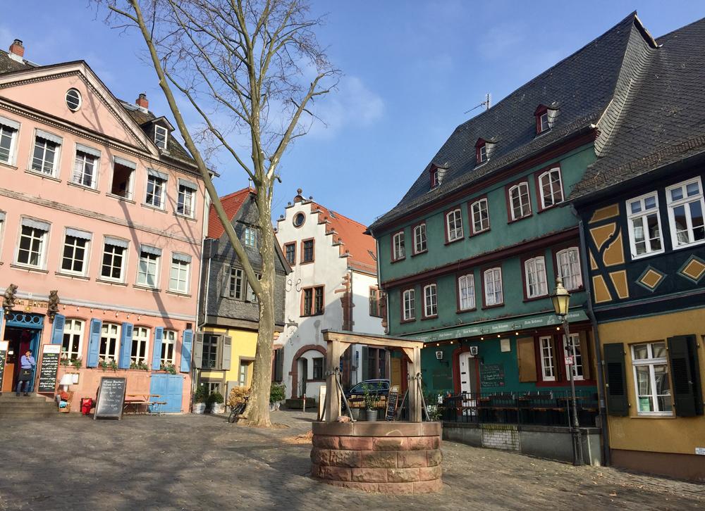 Fairytale town frankfurt