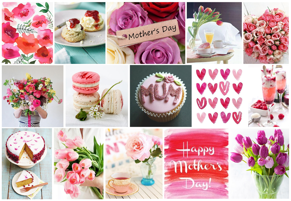 Mother's Day Mood Board