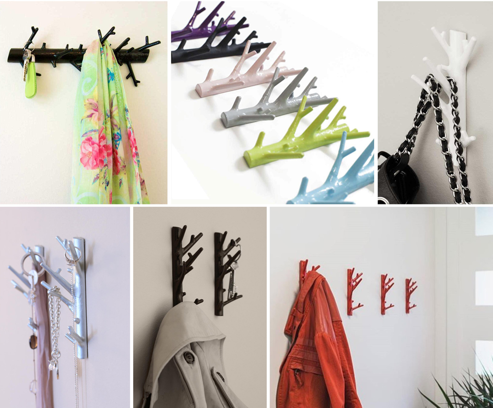 Bosign Decorative Storage Branch Hangers