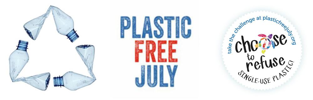 Plastic Free July Logos