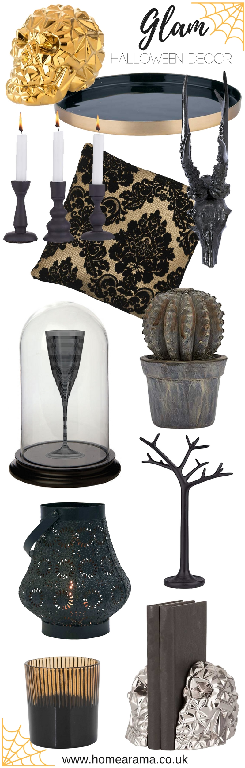 Glam Halloween Decor Inspiration