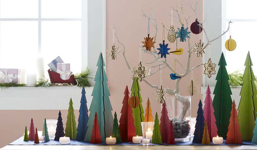 Alternative Christmas Tree DI Festive