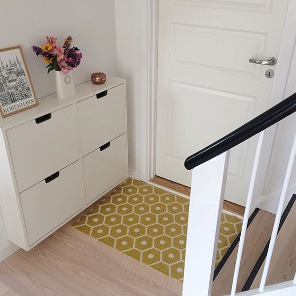 Yellow Interiors Pappelina Honey Mustard Doormat