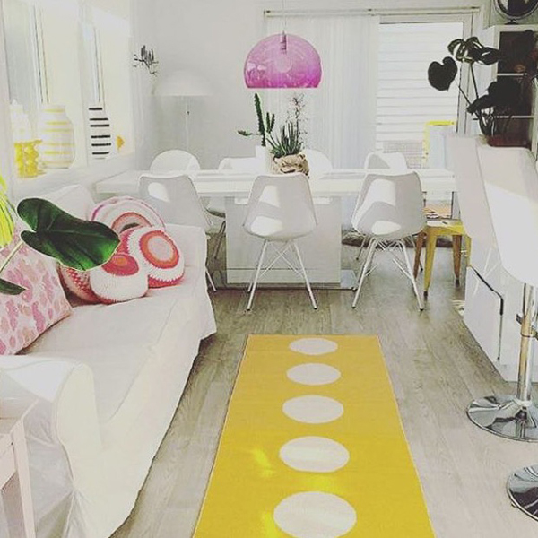 Yellow Interiors Pappelina Vera Lemon