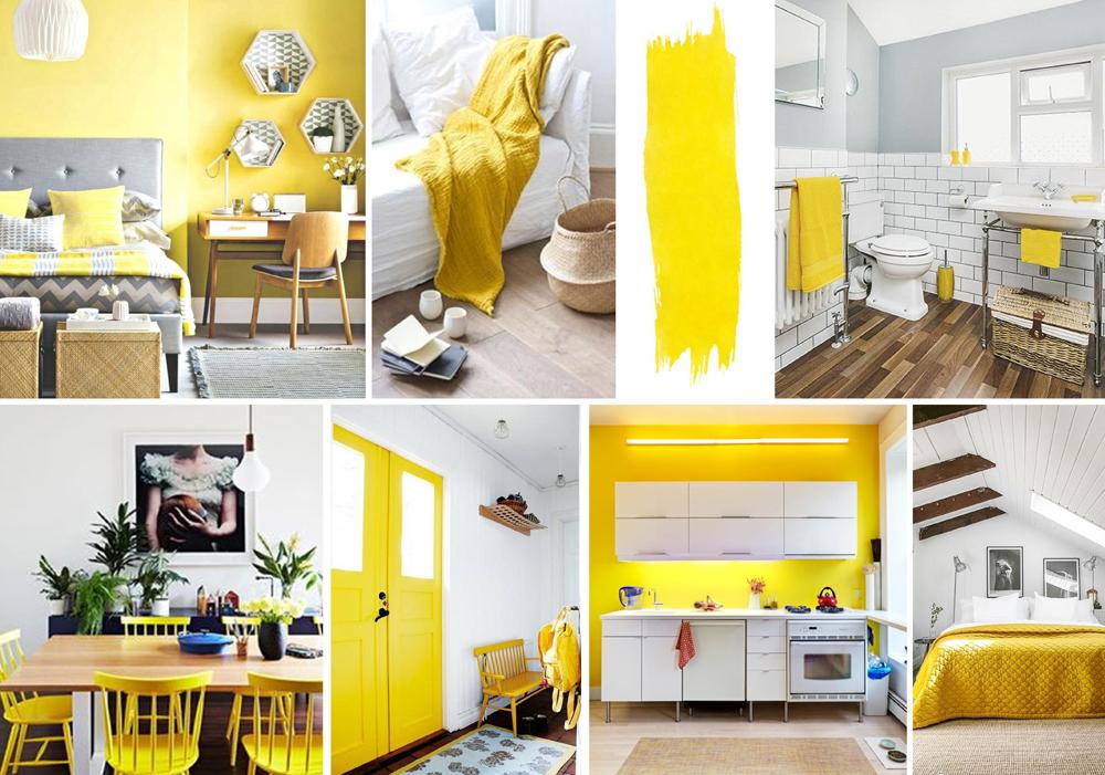 Yellow Interiors - Sunshine Yellow