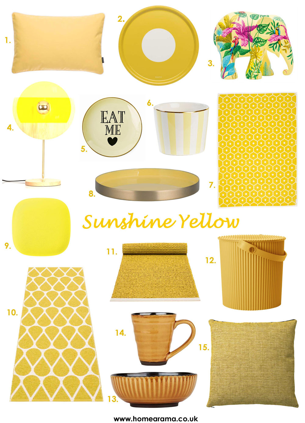 Yellow Interiors Decor