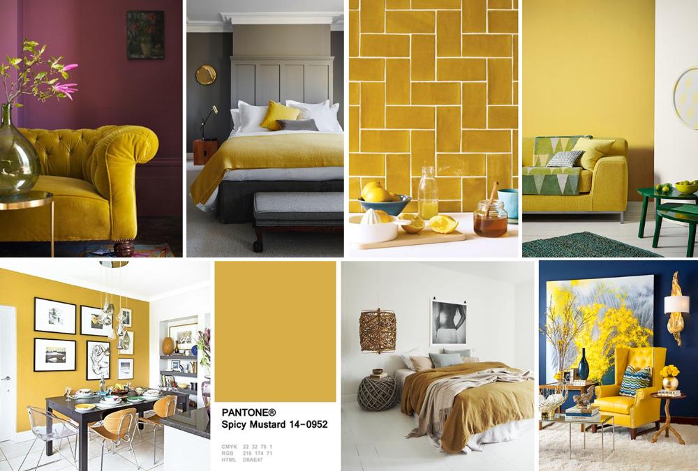 Yellow Interiors - Mustard Yellow