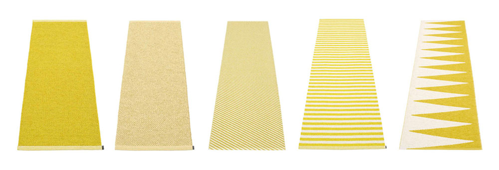 Yellow Interiors Pappelina Rugs